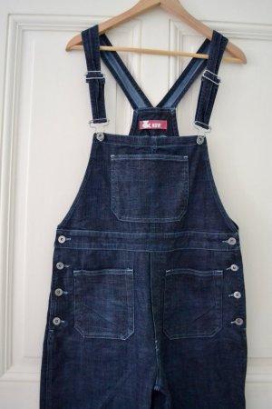 Bib Denim blue-dark blue cotton