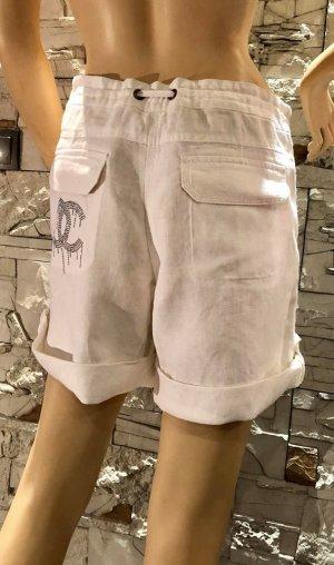 Super Kurze Hose in gr 40/42 Farbe Weiss Leinen Optik