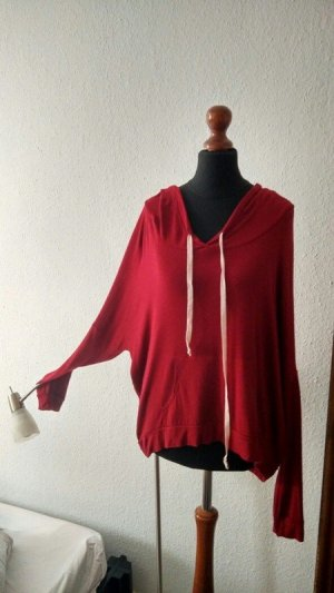 Hooded Shirt red cotton
