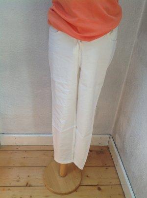 Marc Cain Pantalone chino bianco sporco Tessuto misto