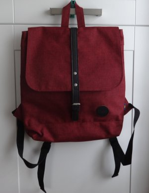 Backpack Trolley bordeaux polyester