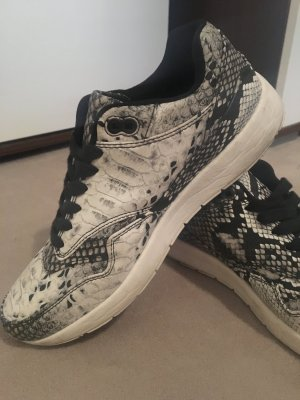 Super leichter sneaker mit Schlangenprint