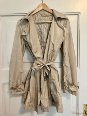 Add Trench Coat cream-oatmeal