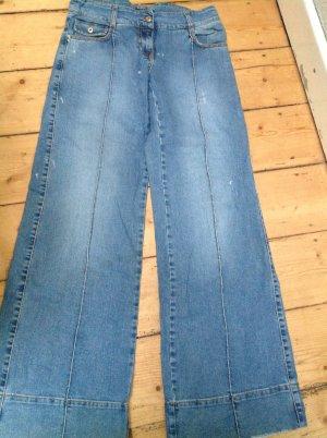 Patrizia Pepe Marlene jeans korenblauw Gemengd weefsel