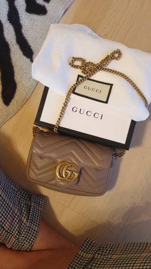 Gucci Borsetta mini color oro rosa-beige
