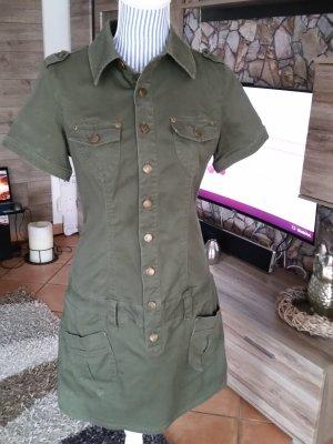Super olivfarbenes Mini Kleid v. BUFFALO London Gr. 40 Top!