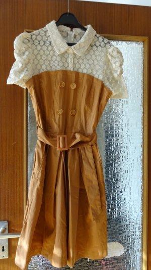 Super Orsay- Kleid mit Spitzenbesatz!