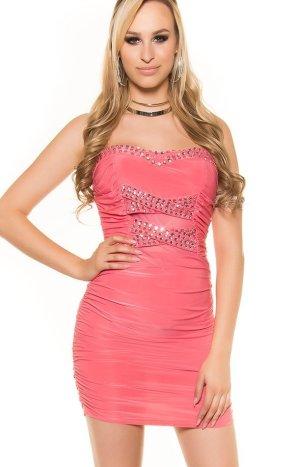 Jersey Dress salmon mixture fibre