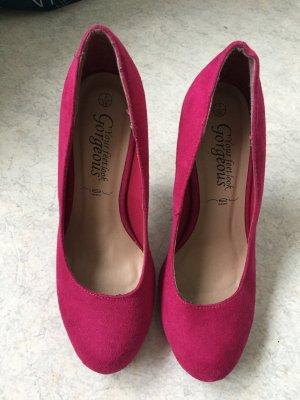 Super pinke High-heels