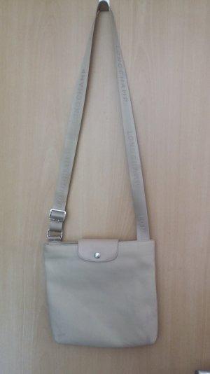 Super praktische Longchamp Tasche in Beige