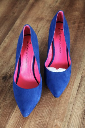 SUPER SALE!!!   Daniela Katzenberger High Heels in Mega Blau