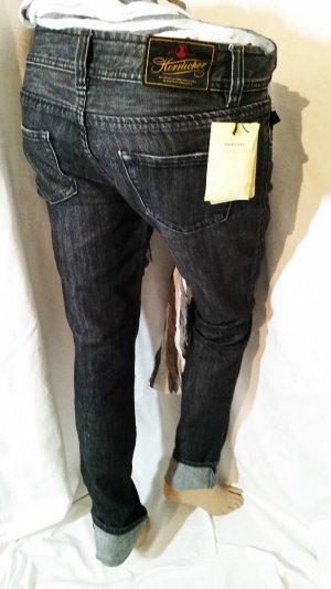 Super Sale!! Herrlicher Jeans Shade Grau Gr 36 Neu mit Etikett