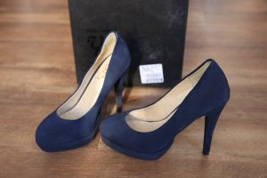 SUPER SALE!!!    High heels in Indigo Gr. 38 mit Plateau