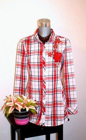 Super Sale !!! Letzte Reduzierung !!! Long Bluse Kariert Gr. 36/38