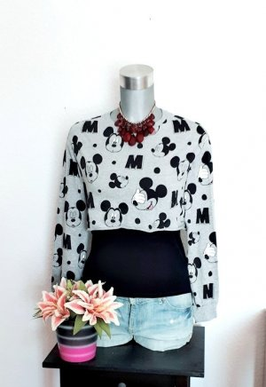 Super Sale !!! Letzte Reduzierung !!! Neu Cropped Mickey Mouse Pullover gr. 36/38