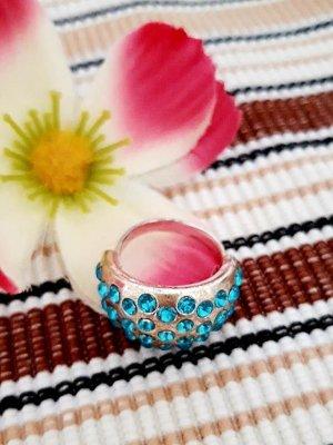 Super Sale !!! Letzte Reduzierung !!! Strass Ring gr. 17 Silber Blau Türkis