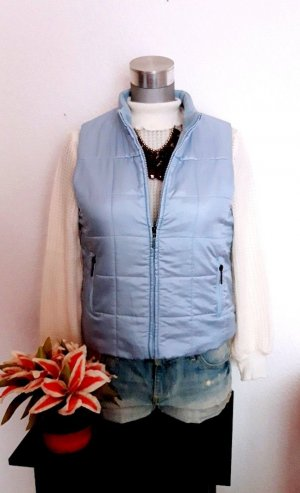 Quilted Gilet azure-blue