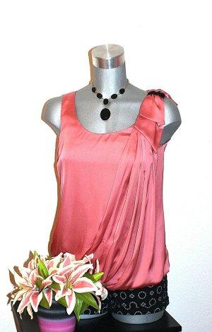 SUPER SALE PREISE ; NUR BIS ZUM WOCHENENDE !!! H&M Satin Look Top gr.36 Bluse