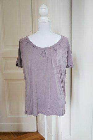 SUPER SALE! T-Shirt Shirt Top altrosa lila blasslila Baumwolle weich bequem M 38
