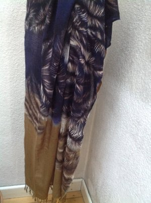 Allude Fringed Scarf multicolored mixture fibre