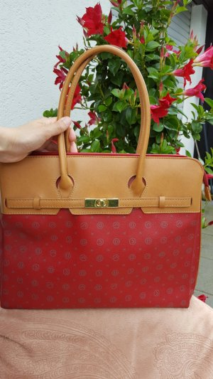 Business Bag red polyester