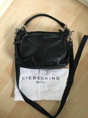 Liebeskind Berlin Mobile Phone Case black leather