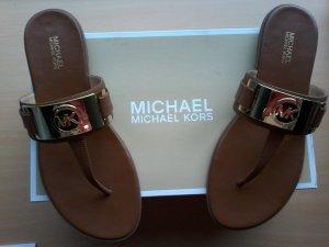 Super schicke Michael Kors Leder-Flip-Flops