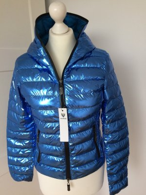 Blue Deise Quilted Jacket cornflower blue-black