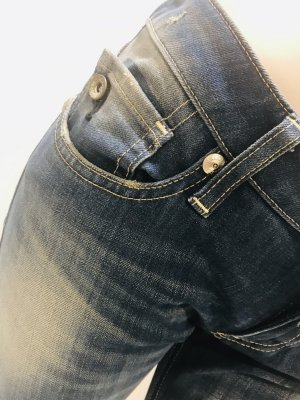 Nolita de Nimes Jeans a zampa d'elefante blu scuro Cotone