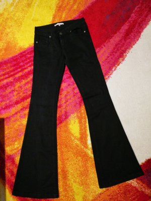 Tally Weijl Jeans a zampa d'elefante nero