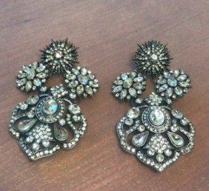 Aldo Statement Earrings silver-colored