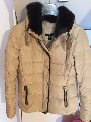 H&M Down Jacket multicolored polyester
