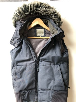Bench Hooded Vest dark blue