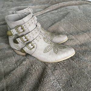 Catwalk Botas beige-color bronce