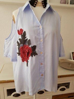 Super-schöne Bluse m. Rosenstickerei von SheIn Einheitsgröße
