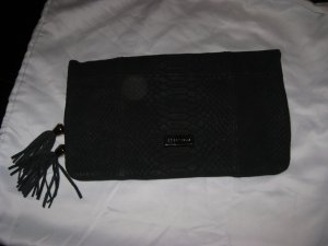Coccinelle Clutch black leather