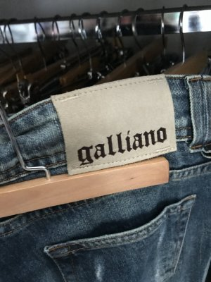 Galliano Low Rise jeans veelkleurig