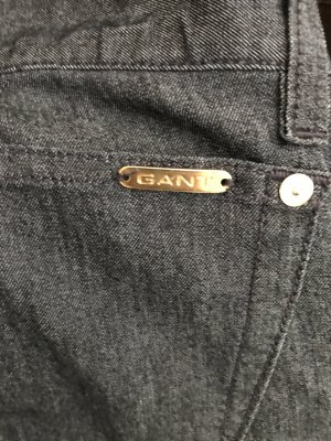 Gant Low Rise Jeans dark blue