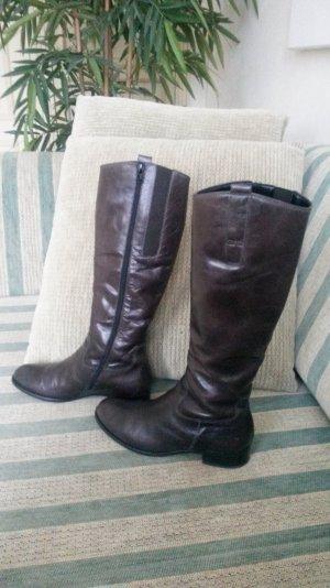super schöne Leder Stiefel von Gabor wie neu!