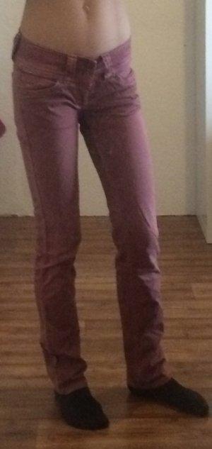Super schöne Pepe Jeans Hose in rosa in Größe 25