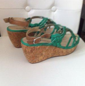 Super schöne Sandalen mit echter Ledersohle Größe 37 von Ilario Ferrucci