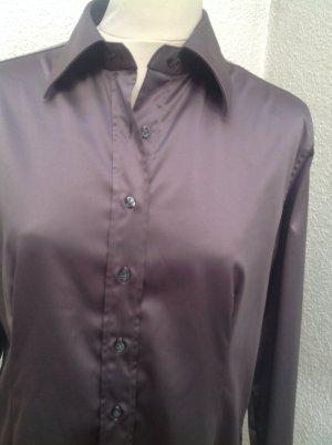 Robert Friedman Glanzende blouse grijs-grijs-lila Gemengd weefsel
