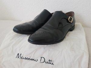 Massimo Dutti Zapatos Budapest negro