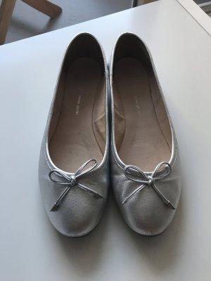 Super schöne silberne Ballerinas von Cox Größe 40
