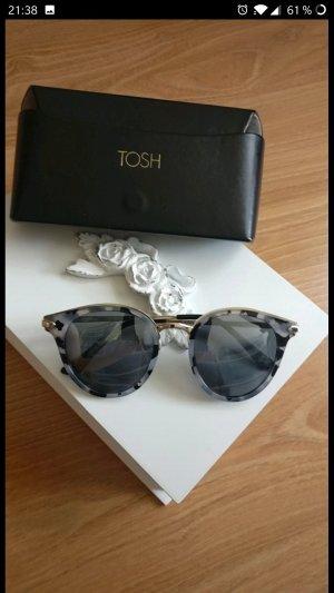 Super schöne Sonnenbrille von TOSH,Neu, Schildpatt-Optik,Roségold
