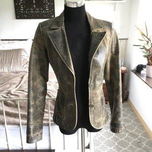 Super schöne Vintage Lederjacke