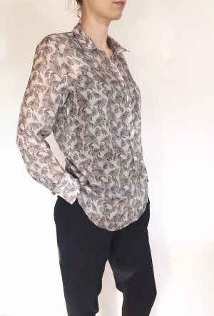 Vintage Silk Blouse light grey-pink