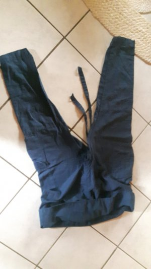 Mango Baggy Pants blue