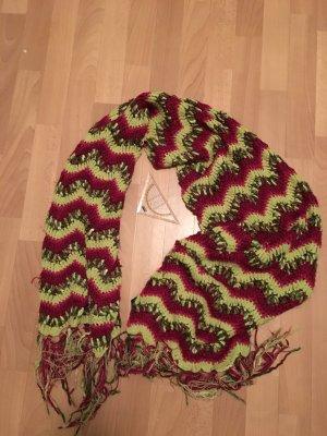 H&M Écharpe en tricot multicolore