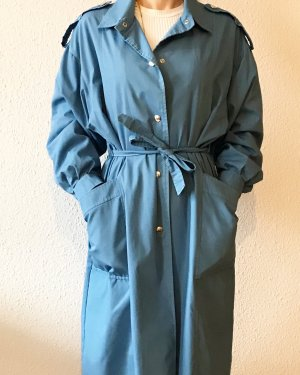 Vintage Trenchcoat bleu clair